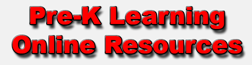 Pre-K Learning Online Resources